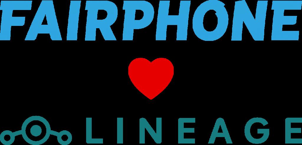 Banière Fairphone <3 LIneageOS